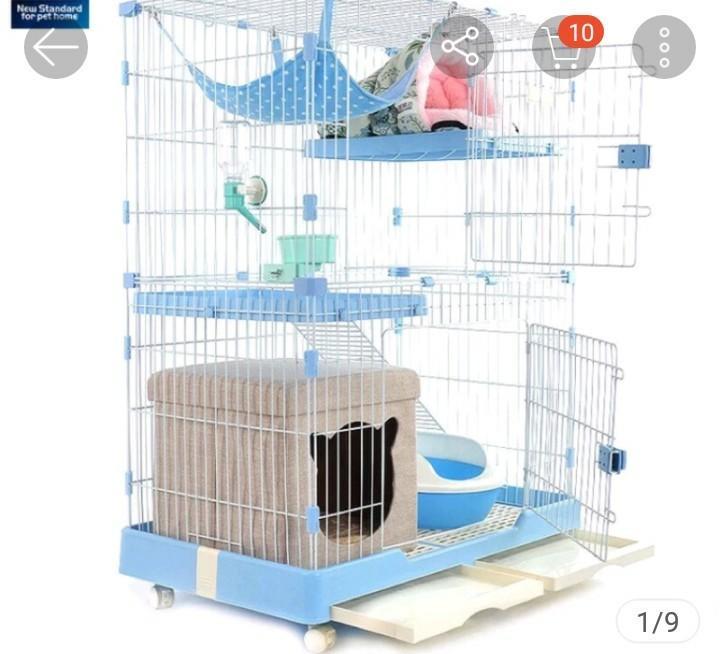 四層貓籠 195公分