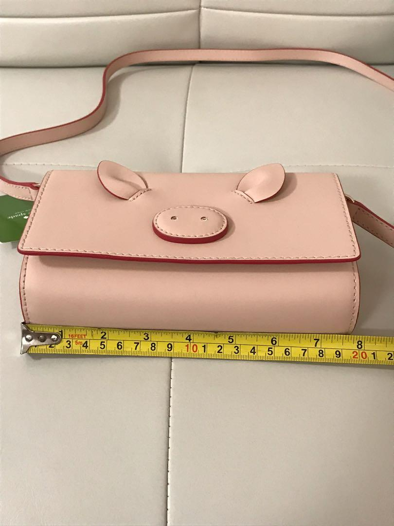 🎀 Brand New Authentic Kate Spade Pig Crossbody Purse 🎀