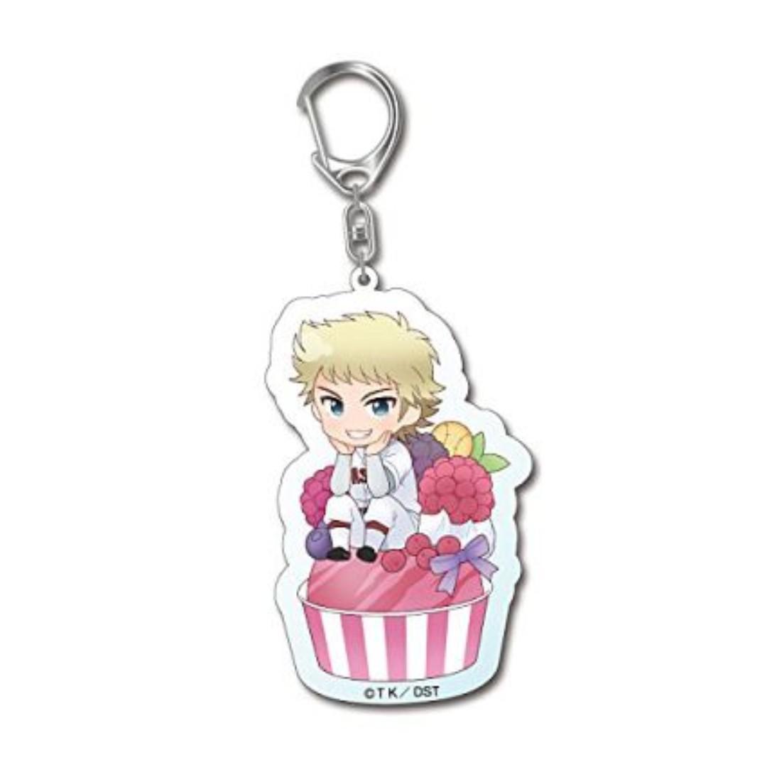 Ace of Diamond - Narumiya Mei - Keychain / Key Holder