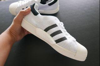 Adidas Superstar Prime-knit upper and BOOST sole sizes US 6, 10.5 and 11