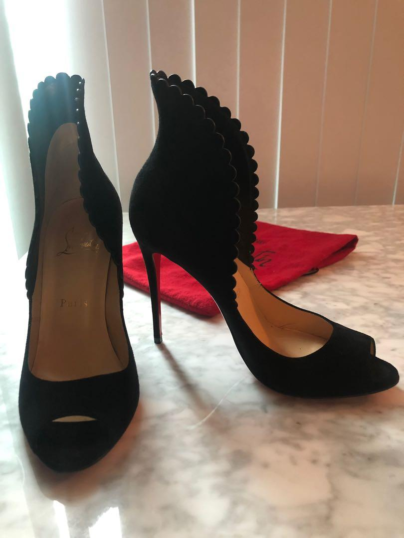 *AUTHENTIC limited Edition, size 38 Louboutins*Moving Sale- worn once!