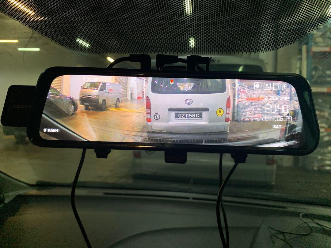 Azdome mirror type camera