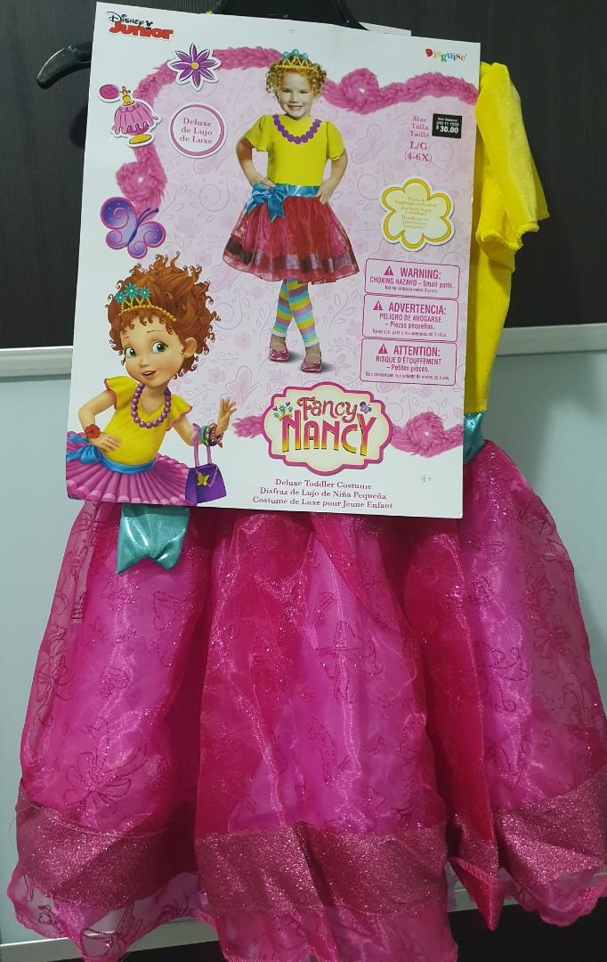 Brand New Fancy Nancy Costume Babies Kids Toys Walkers On Carousell