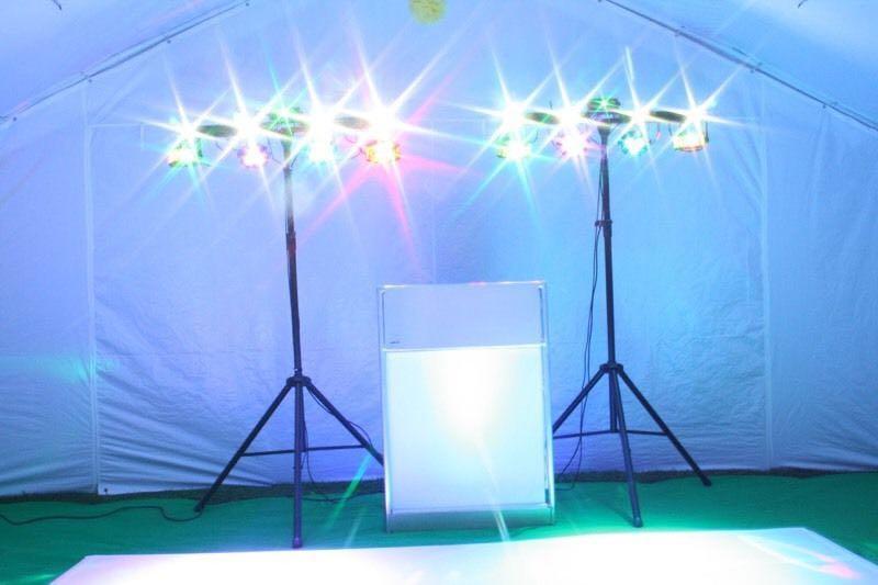 DJ service karaoke services lighting photobooth service