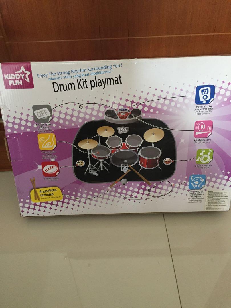 Drum kit playmat
