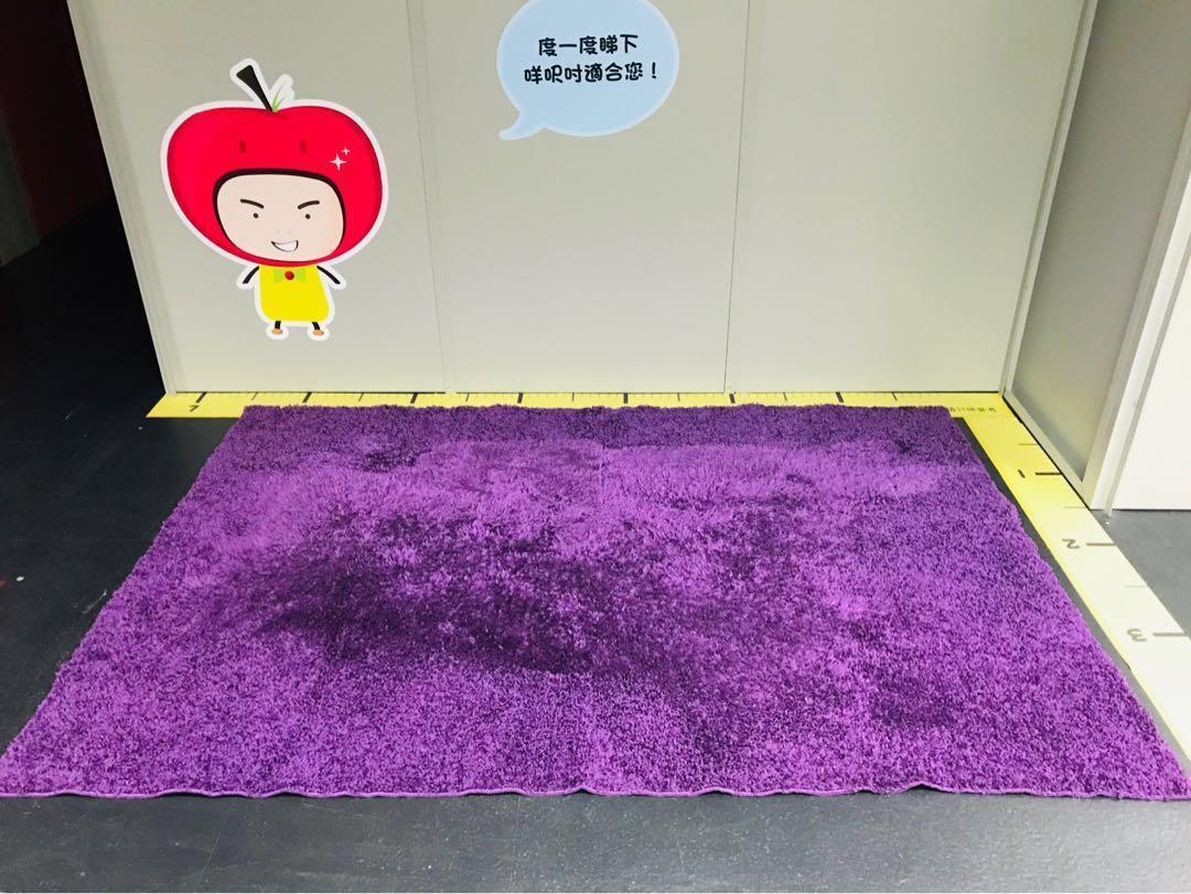 日本FrancFranc 紫色地毯