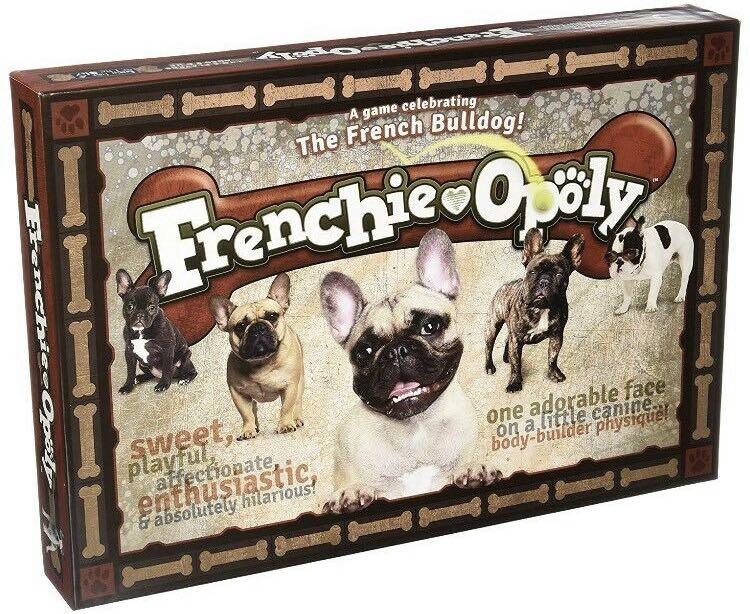 Frenchie-Opoly Brand New Monopoly Style Board Game