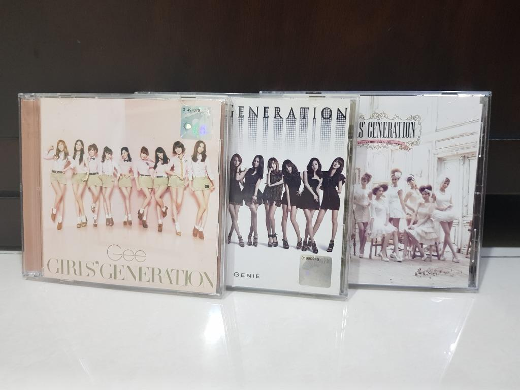 OFFICIAL PRODUCT Girls' Generation CD- 'Genie', 'Gee', 'Girls generation'
