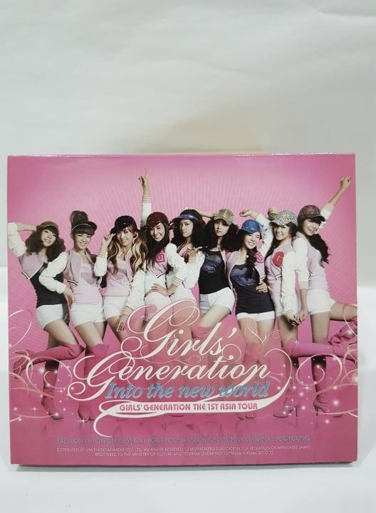 OFFICIAL PRODUCT-Girls' Generation The First Asia Tour- 'Into the New World'