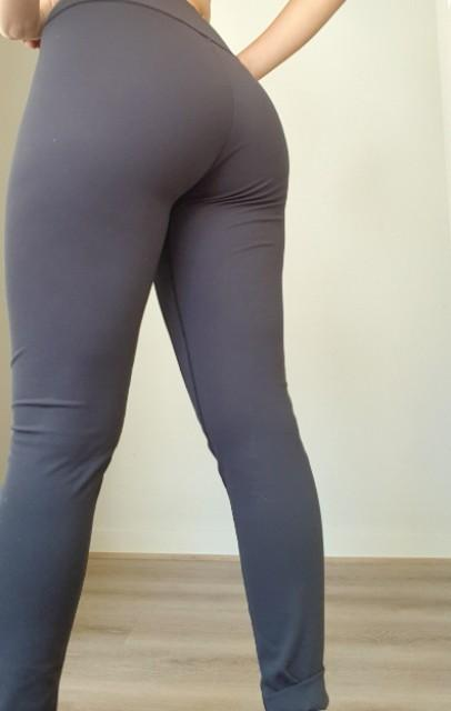 GYMSHARK black gymwear gym leggings tights sports running high waisted squat proof size M