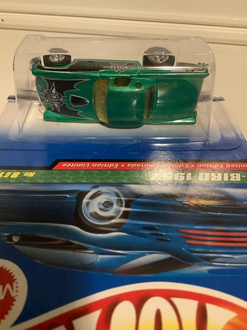 Hot wheels 1957 SUPER TREASURE HUNT Ford T-bird thunderbird rare limited edition diecast car with real riders