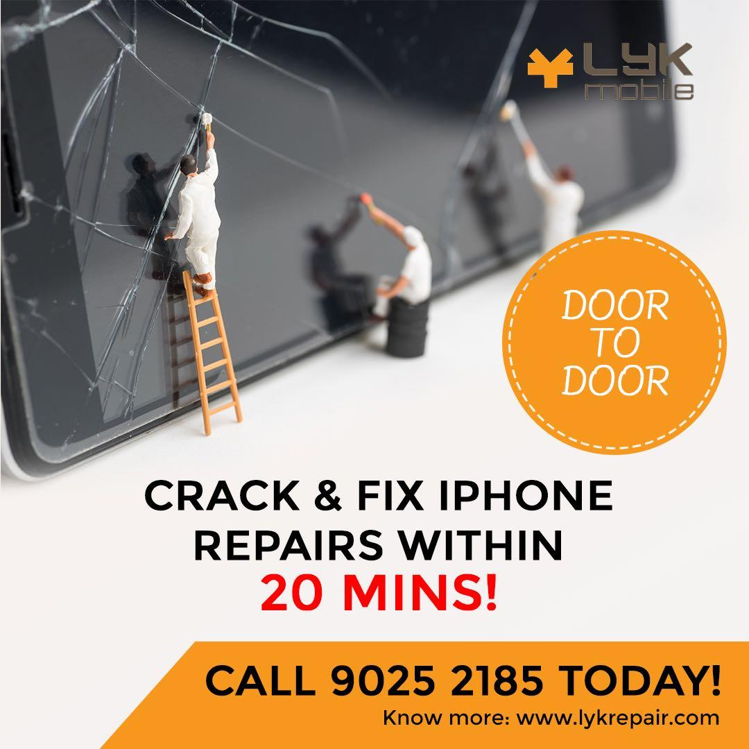 IPhone Repair/10min Repair at your doorstep home.
