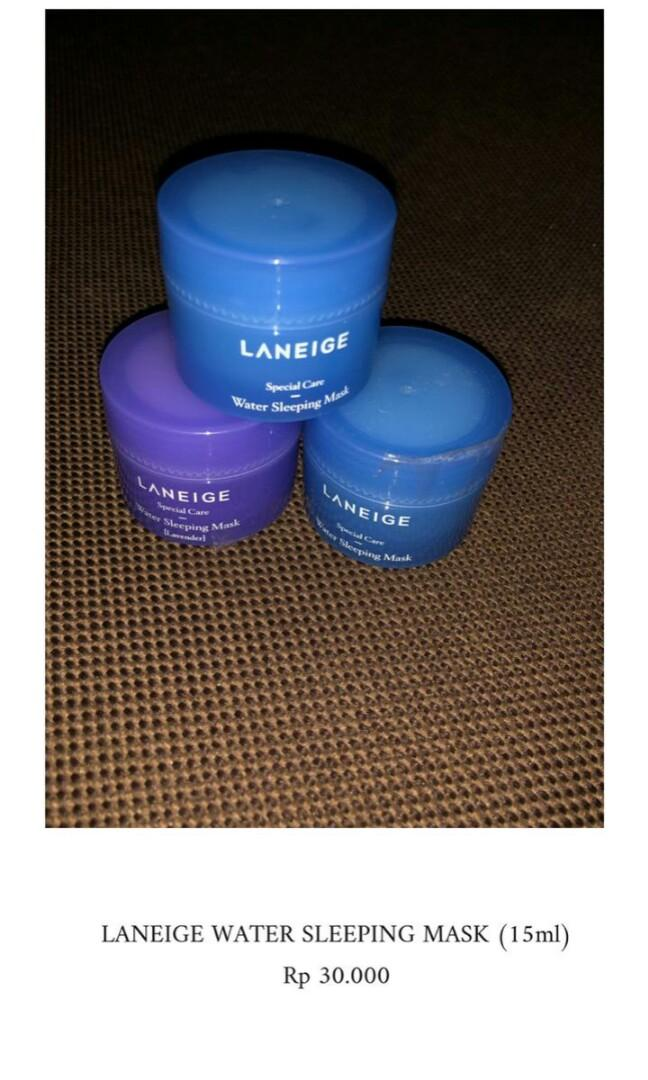 Laneige Sleeping mask trial kit 15ml