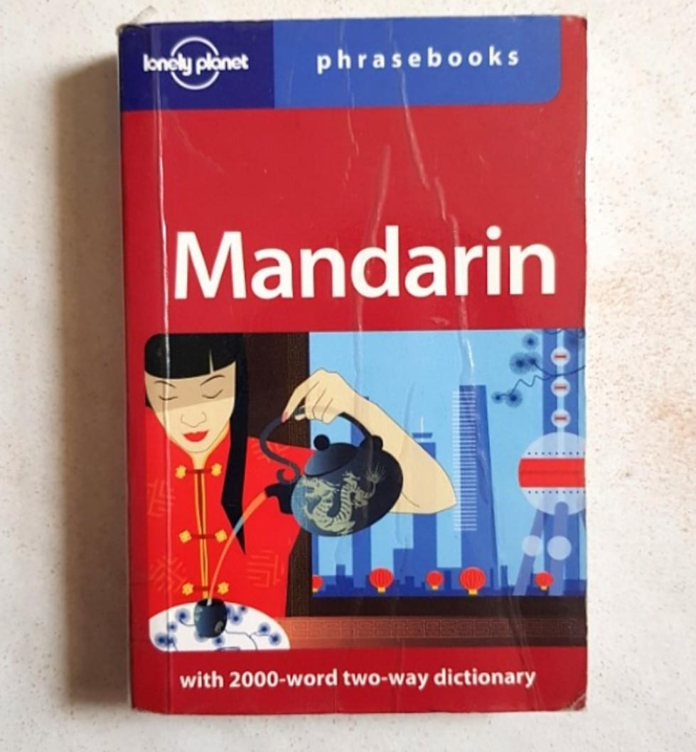 LONELY PLANET Mandarin (Chinese) Phrasebook - Travel Book