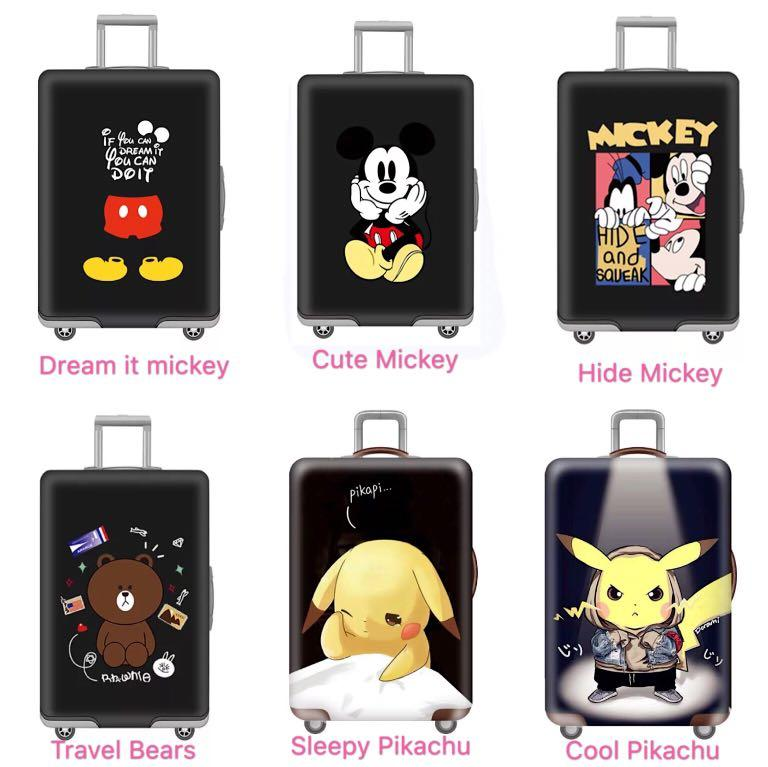 Luggage Cover Disney Mickey Minnie