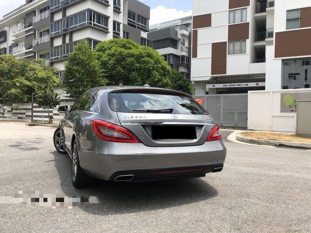 Mercedes-Benz CLS350 Shooting Brake 7G-Tronic (A)