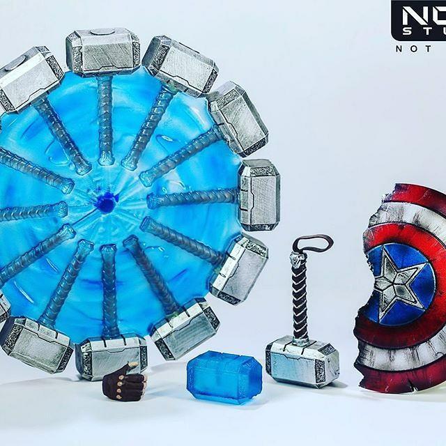*CLOSED* Nota Studio worthy Captain America endgame upgrade kit