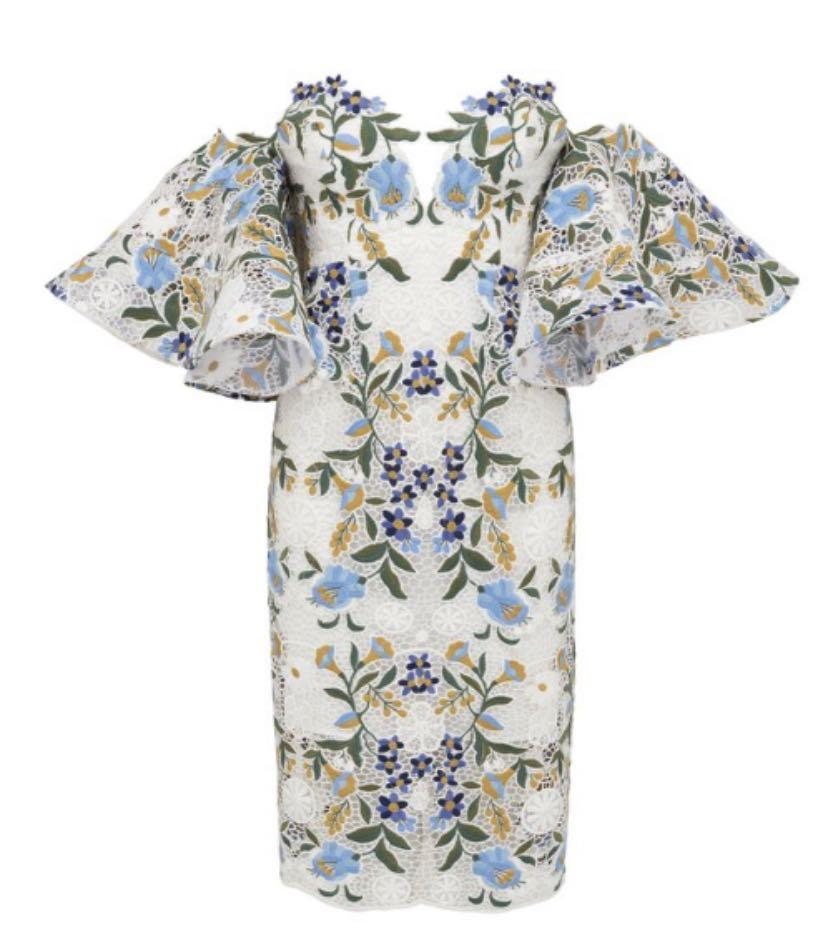 NWT Thurley embroidered fiesta dress sz 10 - RRP$ 849