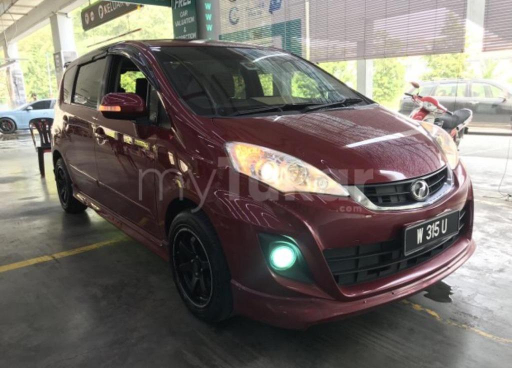 PERODUA ALZA 1.5 AUTO SE EDITION 2014 (LOAN KREDIT)