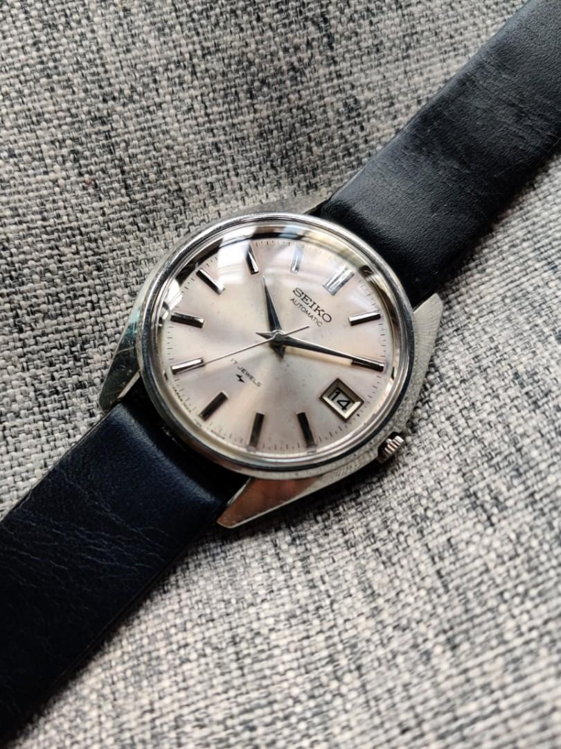 Poor Man Vintage King Seiko 7005-8000 Grand 45 4502 Grammar of Design