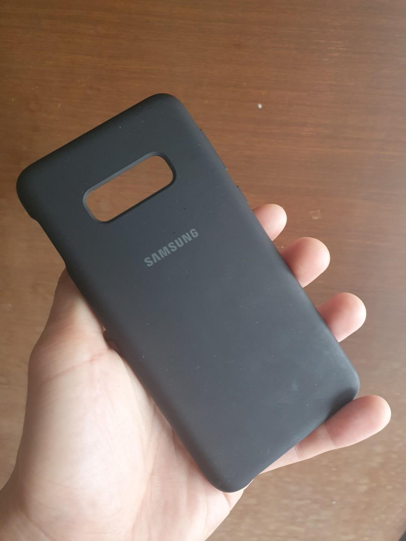 Samsung S10e silicon case Matte black