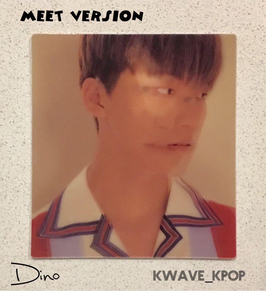 SEVENTEEN [U MAKE MY DAWN] or [U MAKE MY DAY] - LENTICULAR CARD + FREE SHIPPING