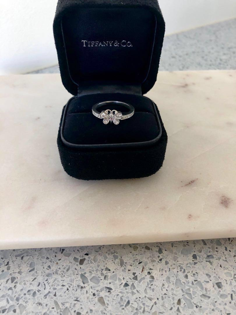 Tiffany & Co. Platinum and Diamond Ring.Serious Enquiries only! Not Negotiable!