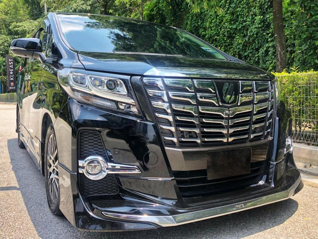 TOYOTA ALPHARD/VELLFIRE 2.5 (A) -ROBOT (New Model)-With Driver only