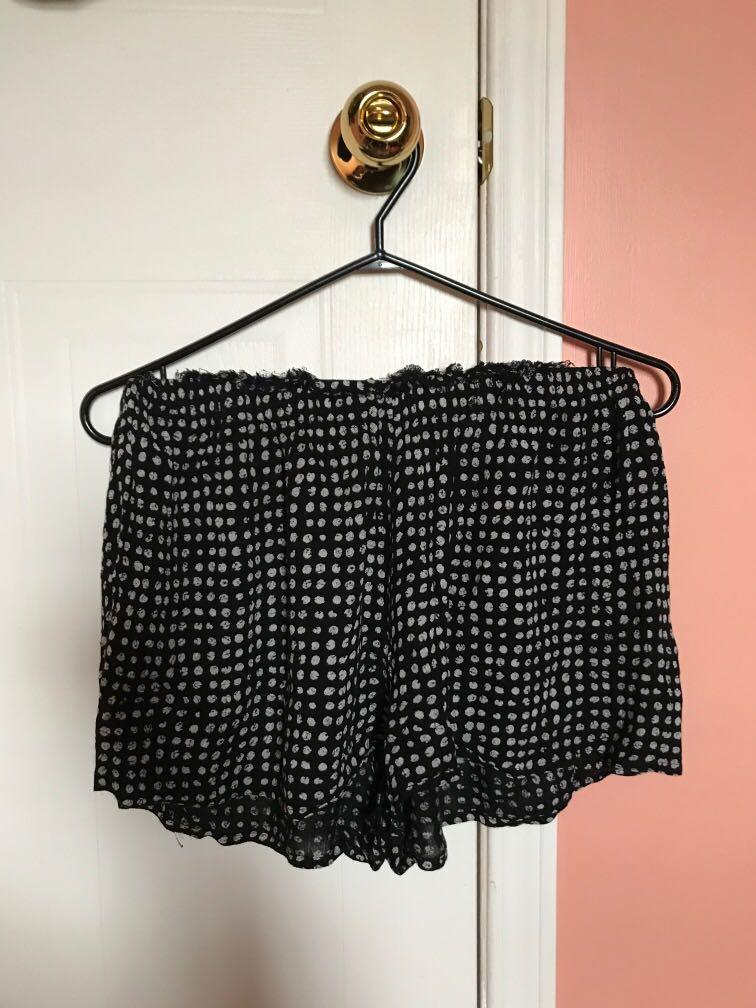 Urban Outfitters (Out from Under) Pocka Dot Flouncy Shorts