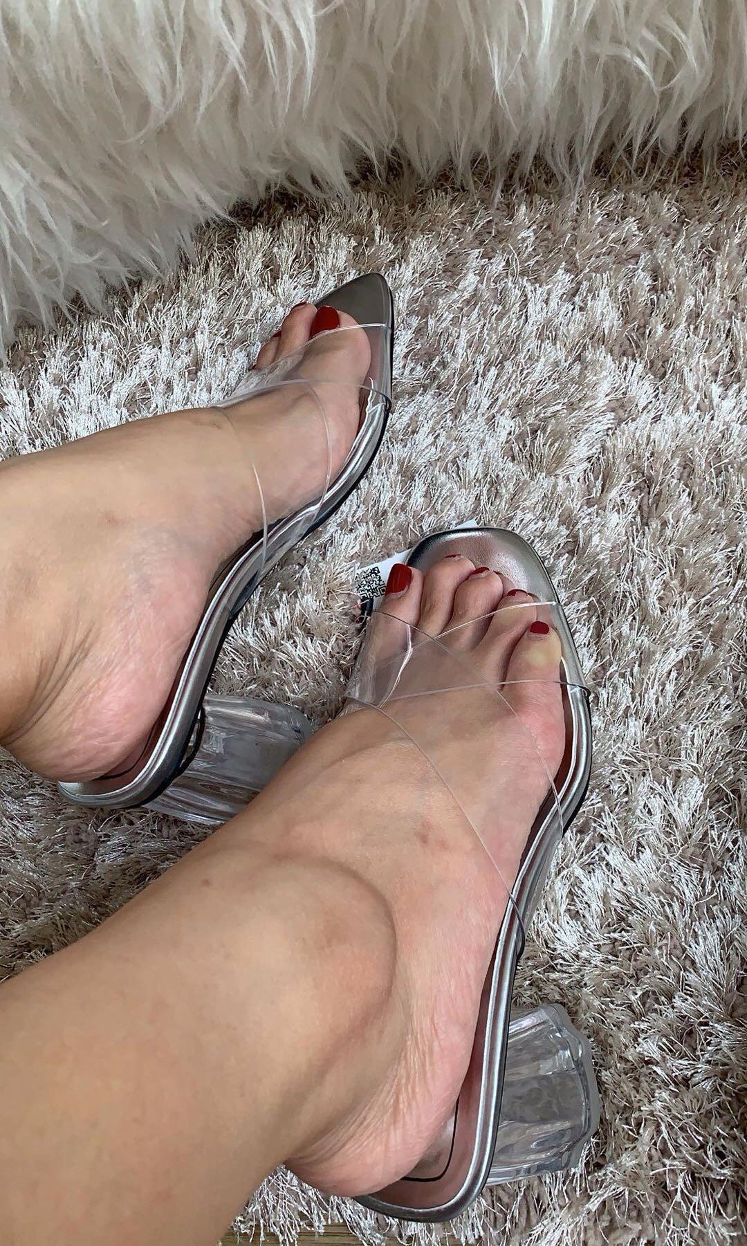 ZARA Geometric Heels