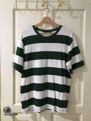 Korea Stripe Top (Green)