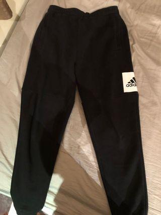 Adidas 厚棉褲
