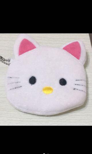 白貓零錢包
