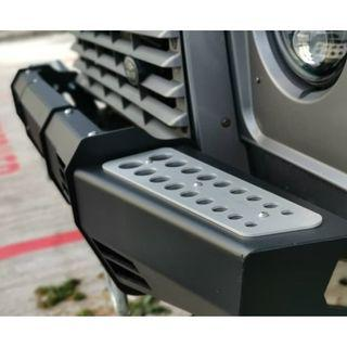 M17 Black Cover Winch Bumper Land Rover Defender 4X4MBW2023N