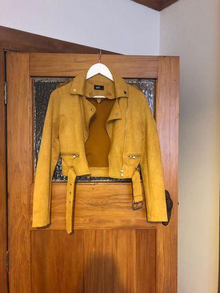 Biker Jacket Mustard