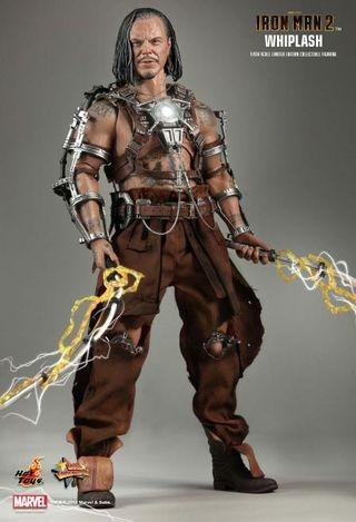 hot toys iron man 2 whiplash