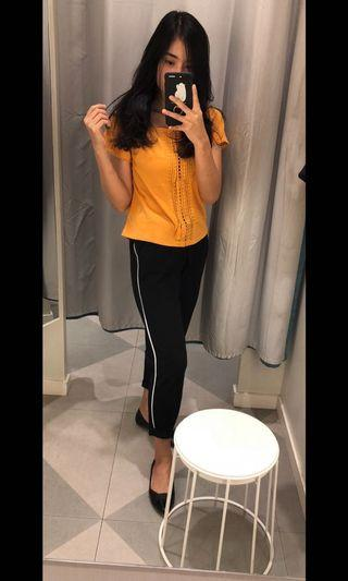 HnM Yellow Top