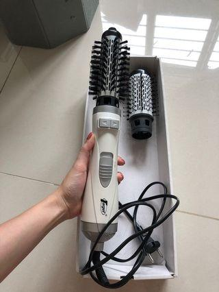Curl-blow hair machine 2in1