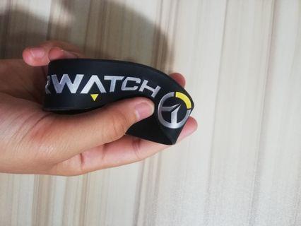 Overwatch wristband black