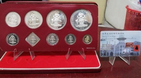 COMMONWEATLH OF THE BAHAMAS PROOF SET