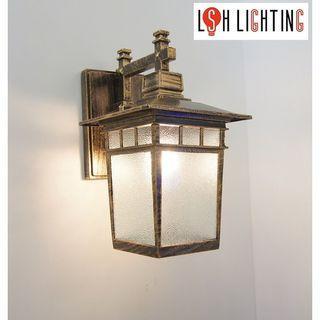 LSH Lighting Classic Antique Outdoor Wall Light 19373W/1