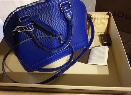 Authentic Louis Vuitton Alma Epi BB