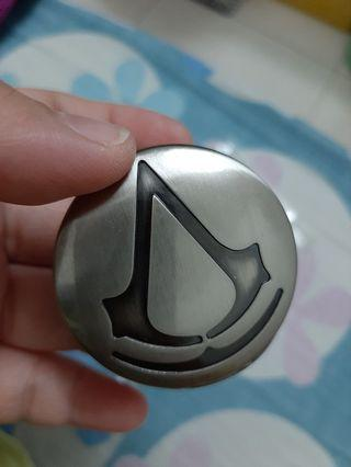 Assasin Creed Locket Watch And Necklace