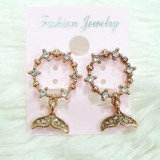 386 - Mermaids Tail Earrings