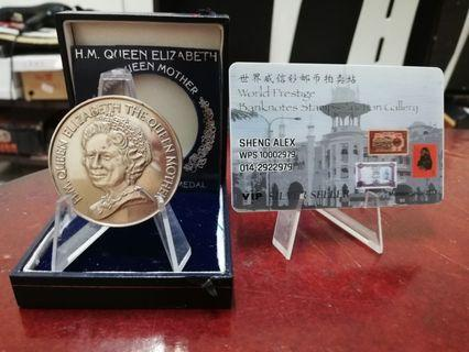 THE GEEN MOTHER 90TH BIRTHDAY 1990COMMEMORATIVE MEDAL MAD IN UK
