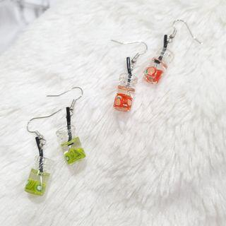 390 - Soda Drink Earrings