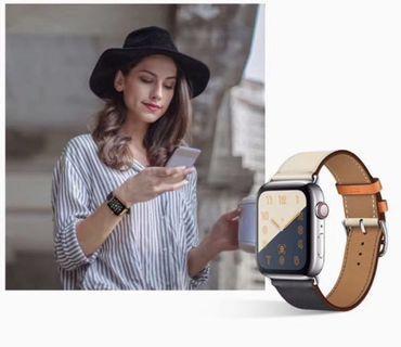Apple Watch Strap Genuine Leather