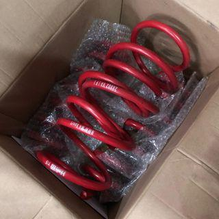 BMW M3/M4 2017-2019 H&R Lowering Spring Set! Used less than 500km legit! Still near perfect condition!