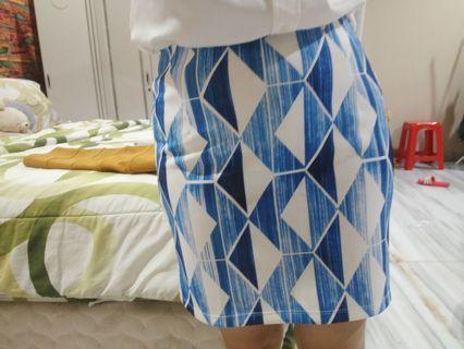 zalora something borrowed mini skirt tribal