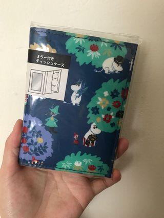 Moomin鏡子面紙套